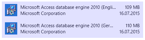 Unable to load odbcji32 dll (MS Access ODBC driver)