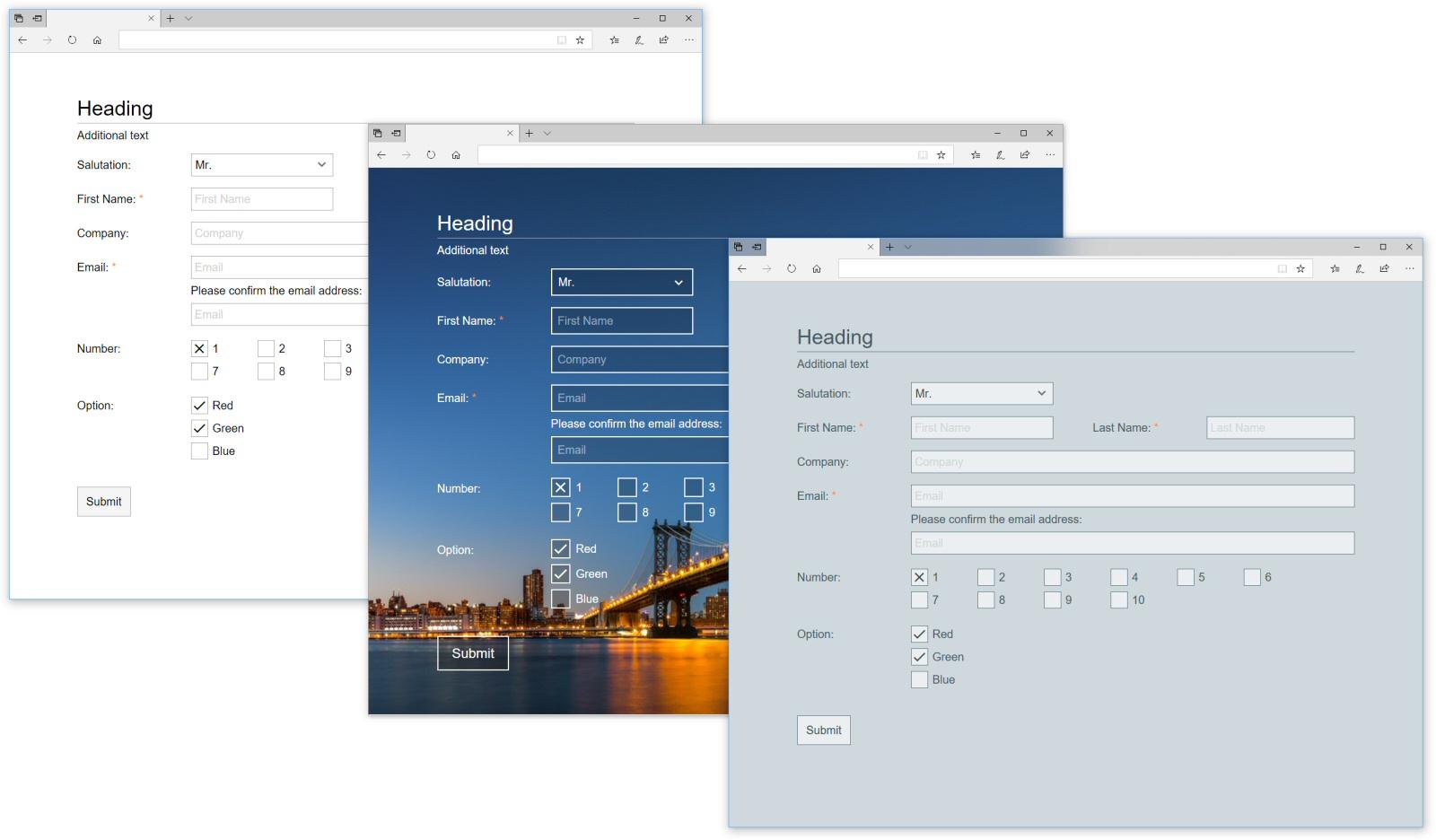 Arclab Web Form Builder Online Form Generator Software