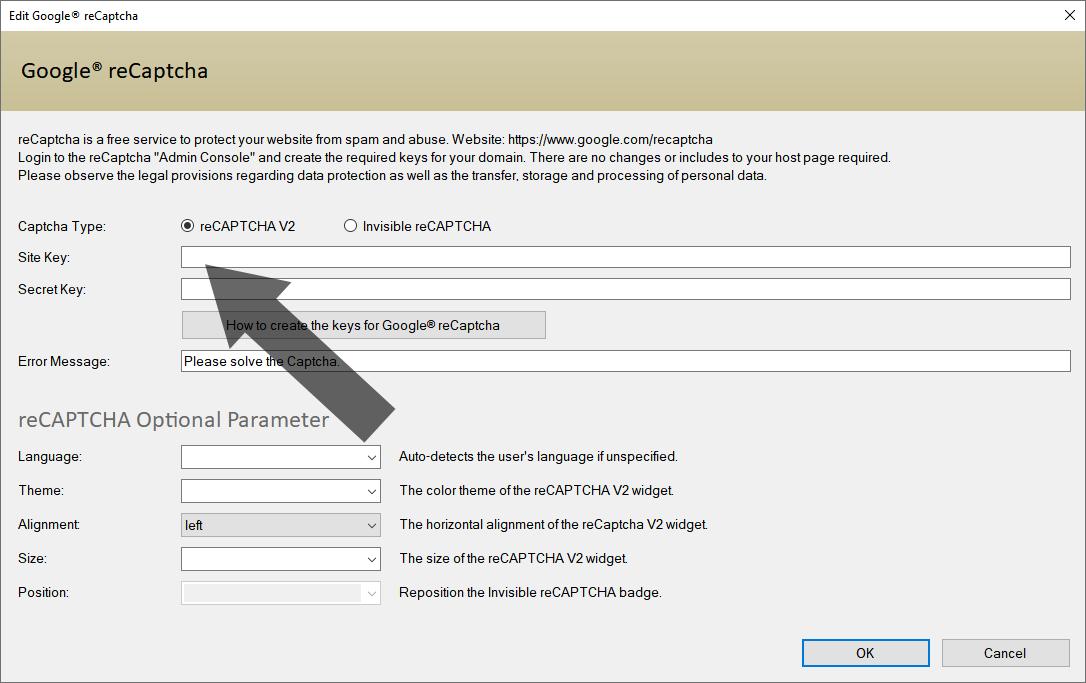 Arclab® Web Form Builder | Captcha and reCaptcha