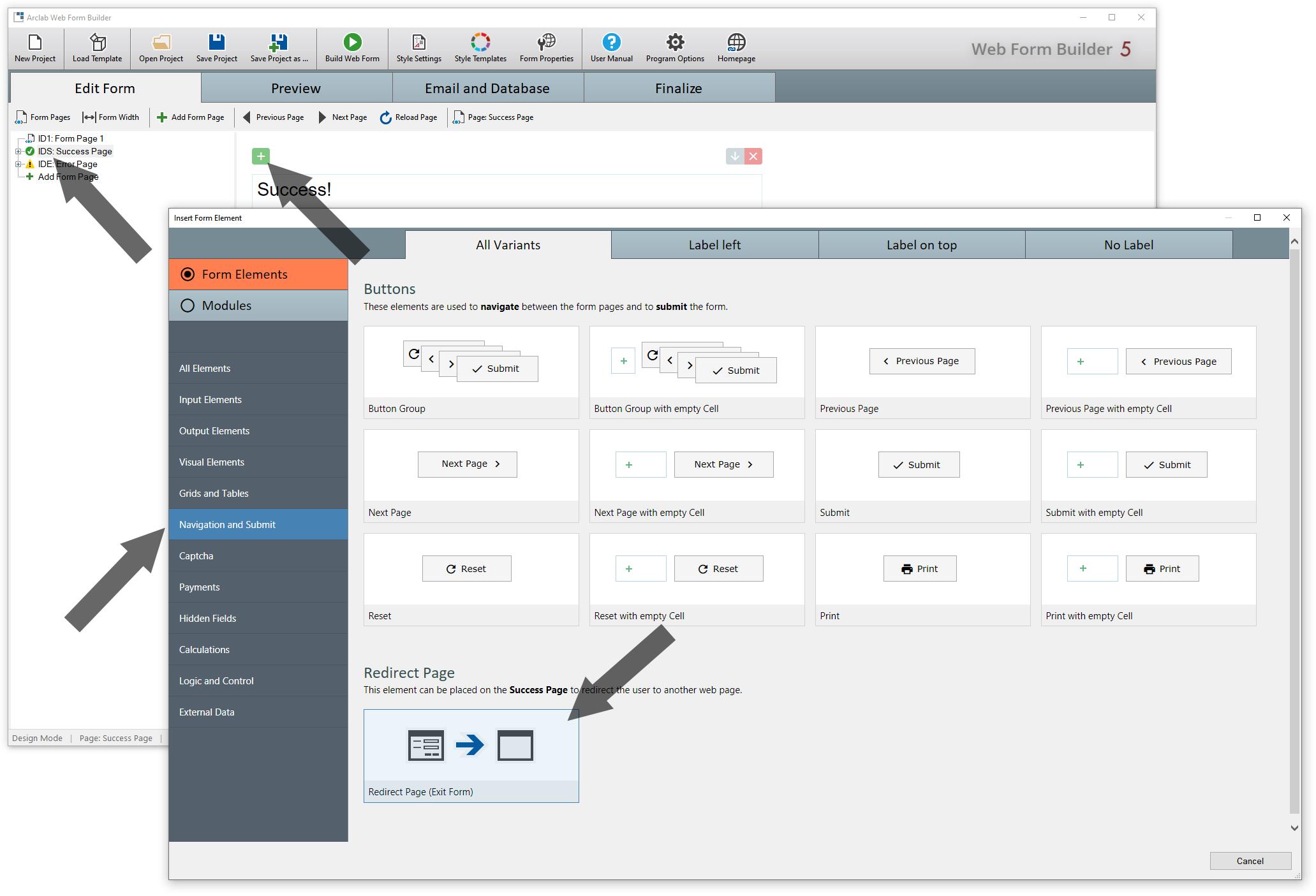 Arclab Web Form Builder(网页表单设计工具)